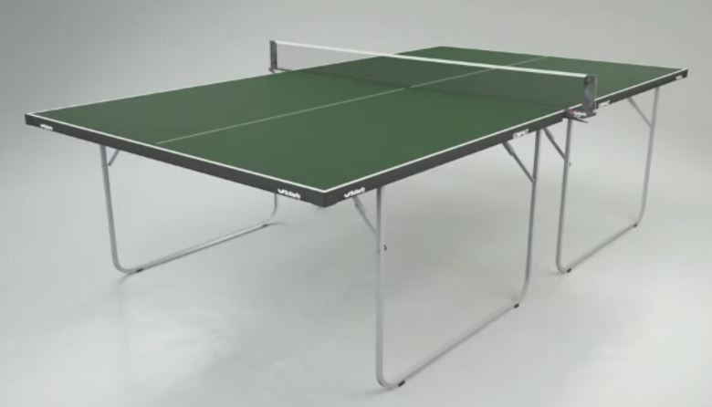 compact table tennis table