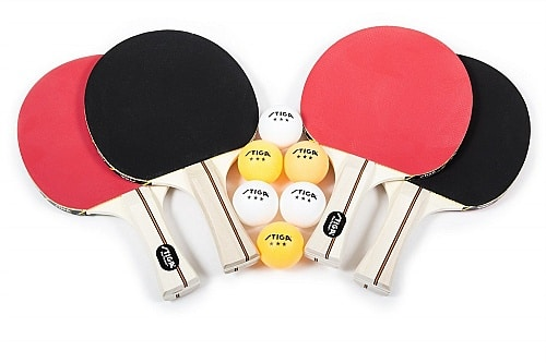 stiga performance table tennis set