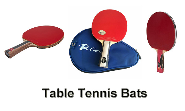 table tennis bats