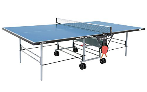 Butterfly TW24B Outdoor Playback Rollaway Table Tennis Table